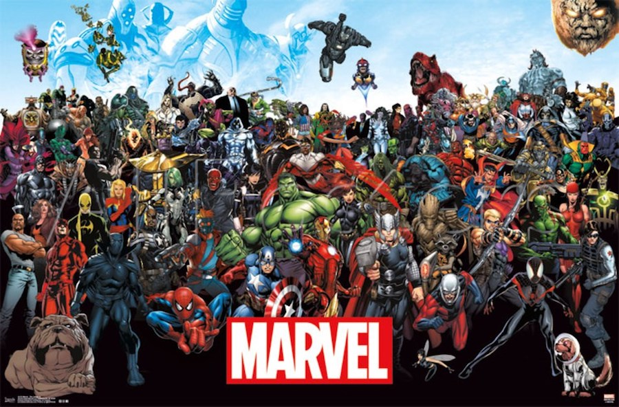 L'univers Marvel est très riche