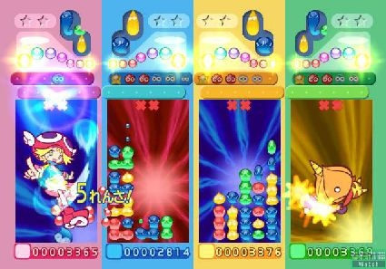 Puyo Puyo sur Wii