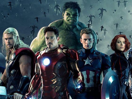 Une partie des célèbres Avengers